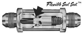 custom check valve